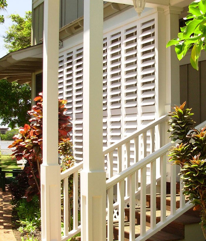 Tropical Exterior Polymer Shutters