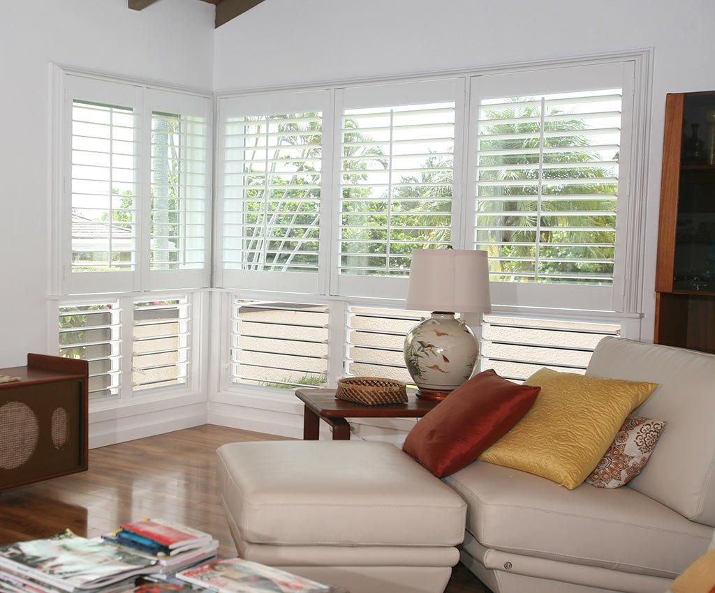 Tropical Interior Polymer Shutters